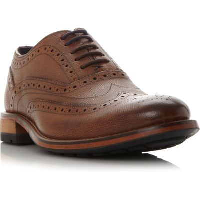 Ted Baker Guri brogue shoes, Tan