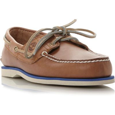 Timberland A16m8 colour pop boat shoe, Tan