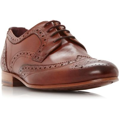 Ted Baker Gryene Wingtop Lace Up Brogues, Tan