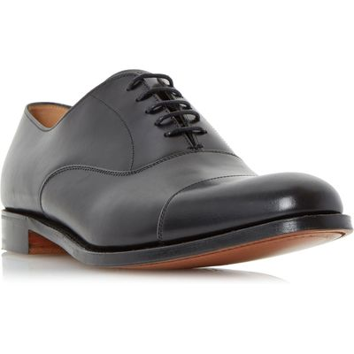 Cheaney Mens Lime Classic Toecap Oxford Shoes, Black