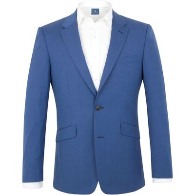 Men's Aston & Gunn Denby tailored jacket, Electric Blue