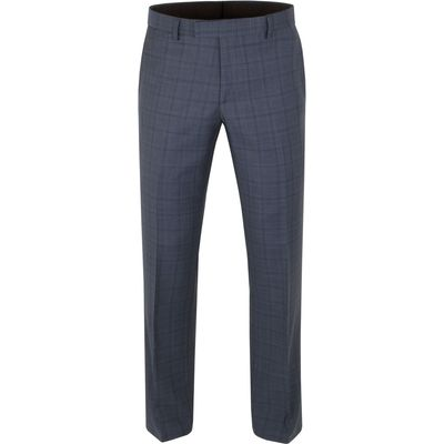 Men's Aston & Gunn Apperley check tailored trousers, Blue