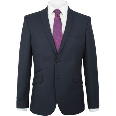Men's Alexandre of England Euston Pindot Wool Blend Jacket, Blue