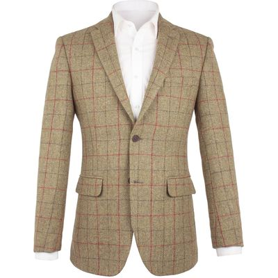 Men's Aston & Gunn Astley Twill Jacket, Green