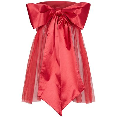 Ann Summers All wrapped up dress, Red
