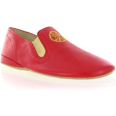 Marta Jonsson Leather slippers, Red