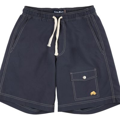 Men's Raging Bull Plain Board Short, Blue