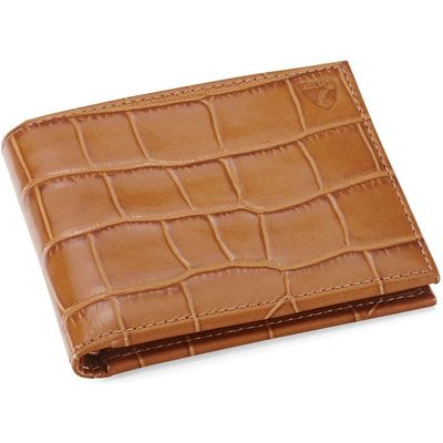 Aspinal of London Billfold Wallet, Tan