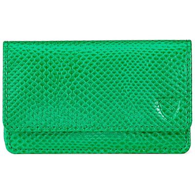 Aspinal of London Business & credit card case, Grass