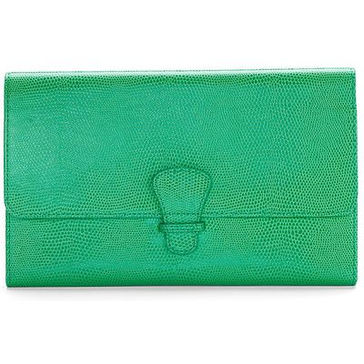 Aspinal of London Classic travel wallet, Grass