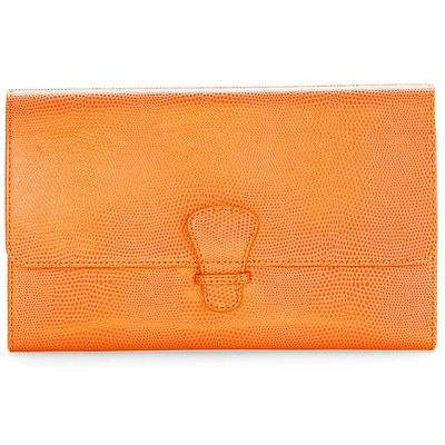 Aspinal of London Classic travel wallet, Orange