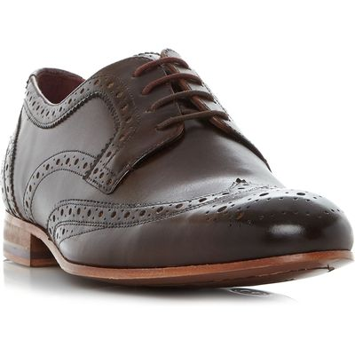 Ted Baker Gryene Wingtop Lace Up Brogues, Brown