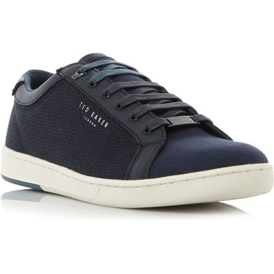 Ted Baker Ternur Textile Print Cupsole Trainers, Blue