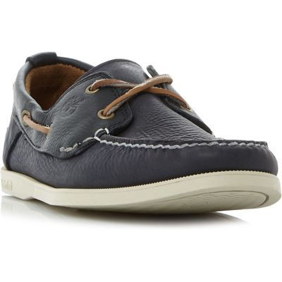 Timberland 6367a 2 eyelet heritage boat shoes, Blue