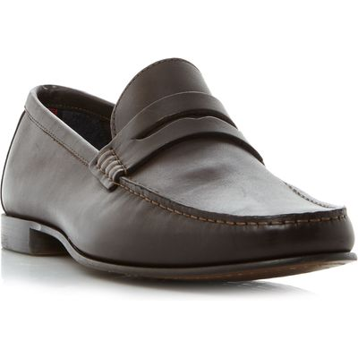 Tommy Hilfiger Russel 2a classic penny loafer, Brown