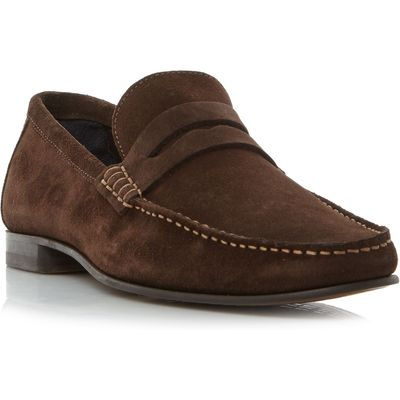 Tommy Hilfiger Russel 2b classic penny loafer, Brown