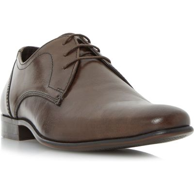 Howick Payson plain toe gibson shoe, Brown