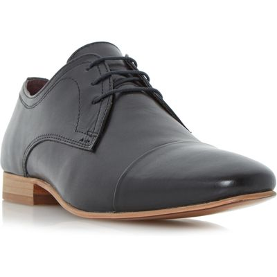 Howick Parmers toe cap gibson shoes, Black