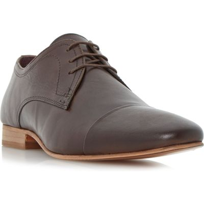 Howick Parmers toe cap gibson shoes, Brown