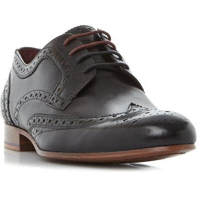 Ted Baker Gryene Wingtop Lace Up Brogues, Black