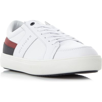 Tommy Hilfiger Moon 1C1 Flag Stripe Trainers, White
