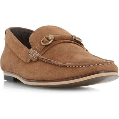 Linea Phantom covered snaffle loafer, Tan