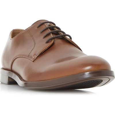 Bertie Particular Classic Gibson Shoes, Tan
