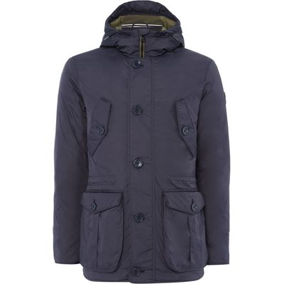 Men's Puffa Minter Padded Parka Jacket, Blue