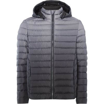 Men's Puffa Stewart Padded Down Jacket, Charcoal