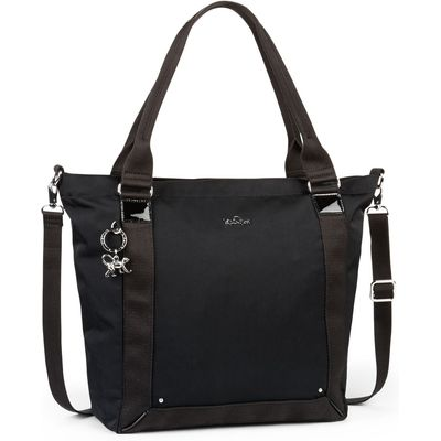 Kipling Kiera twist removable strap tote bag, Black