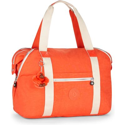 Kipling Art m travel tote bag, Coral