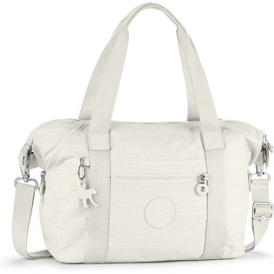 Kipling Art small tote bag, Cream