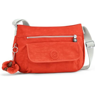 Kipling Syro shoulder bag, Coral