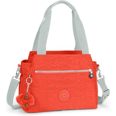 Kipling Elysia removable strap shoulder bag, Coral