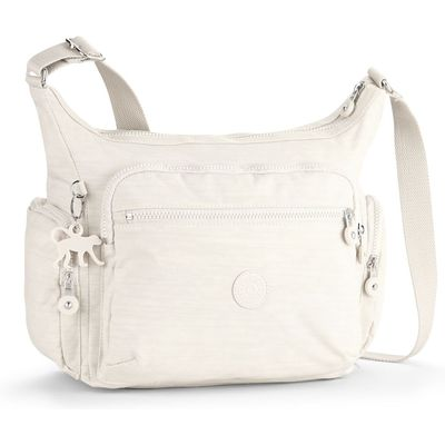 Kipling Gabbie medium shoulder bag, Cream