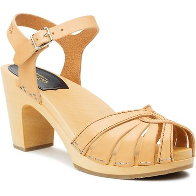 Swedish Hasbeens Fredrica sandals, Natural