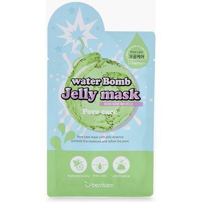 Pore Care Water Bomb Jelly Mask - blue