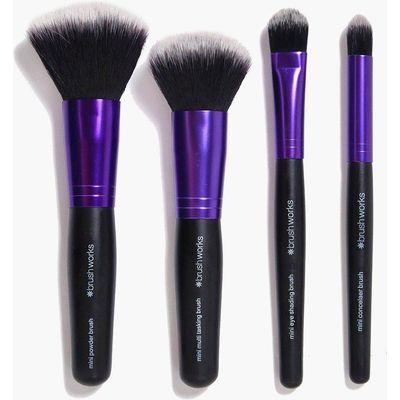 & Powder Mini Brush Set - purple