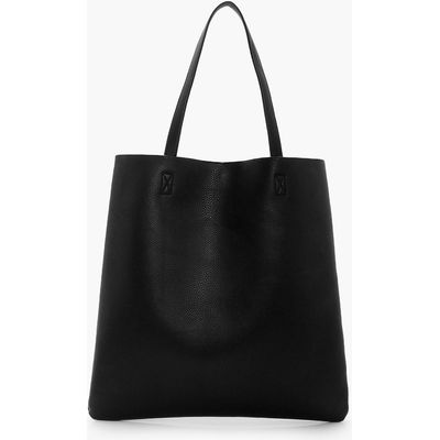 Basic Shopper Day Bag - black