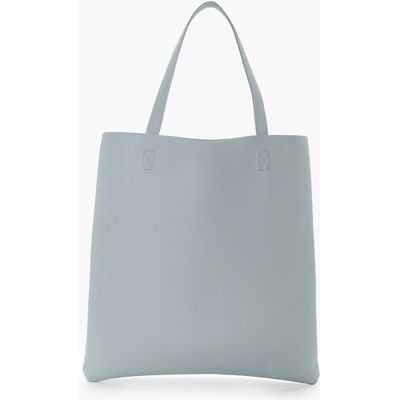 Basic Shopper Day Bag - blue