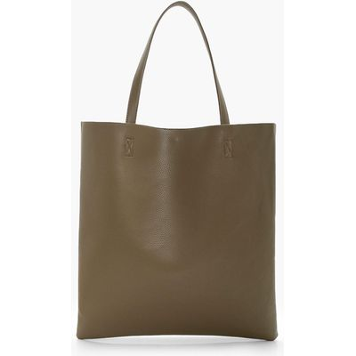 Basic Shopper Day Bag - khaki