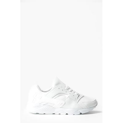 Up Running Trainers with Heel Detail - white