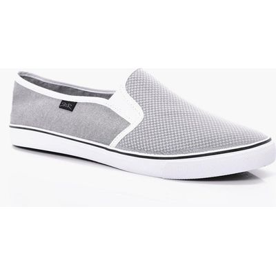 Slip On Trainers - grey