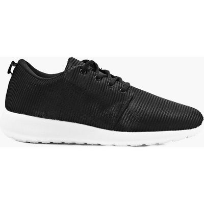 Texture Running Trainers - black