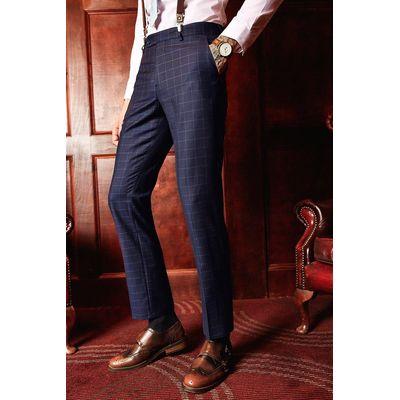 Fit Suit Trousers - navy