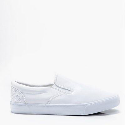 Slip Ons - white