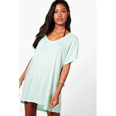 jersey Beach Cover Up - mint