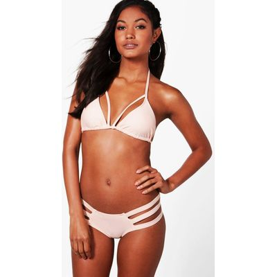 Mix & Match Strappy Brief - nude