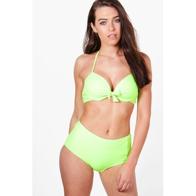 Mix And Match Enhance Underwired Top - lime