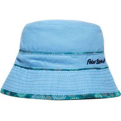 Peter Storm Women's Reversible Bucket Hat - Blue, Blue